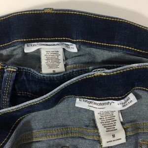 Liz Lange for Target Jeans - 2 pair, Liz Lange Maternity Distressed Blue Jeans